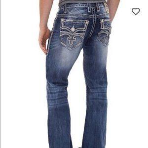 Rock Revival Apollon Denim Sz 36 Jeans~The Buckle